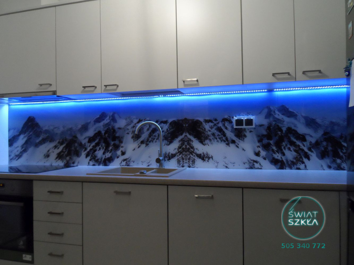 Szklane Inspiracje Szklane Panele Do Kuchni Czy To Tylko Moda I