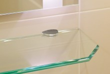 Półki szklane
