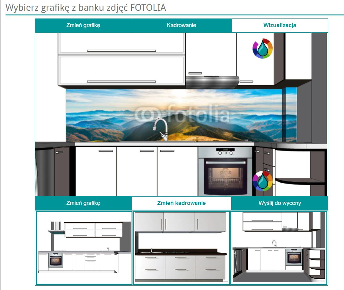wizualizacja w kuchni